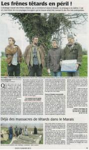 Courier de l'Ouest 03-01-2013