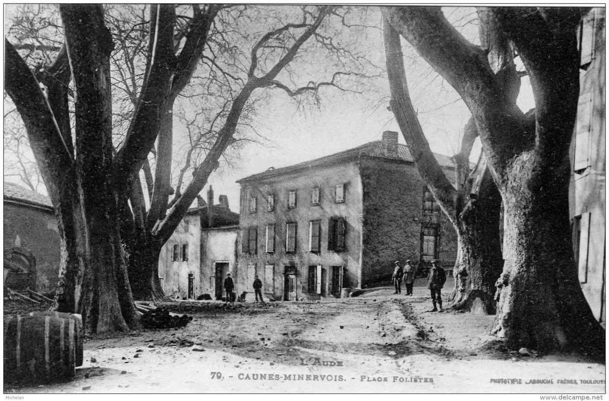caunes-minervois-1905-ex-place-foliste