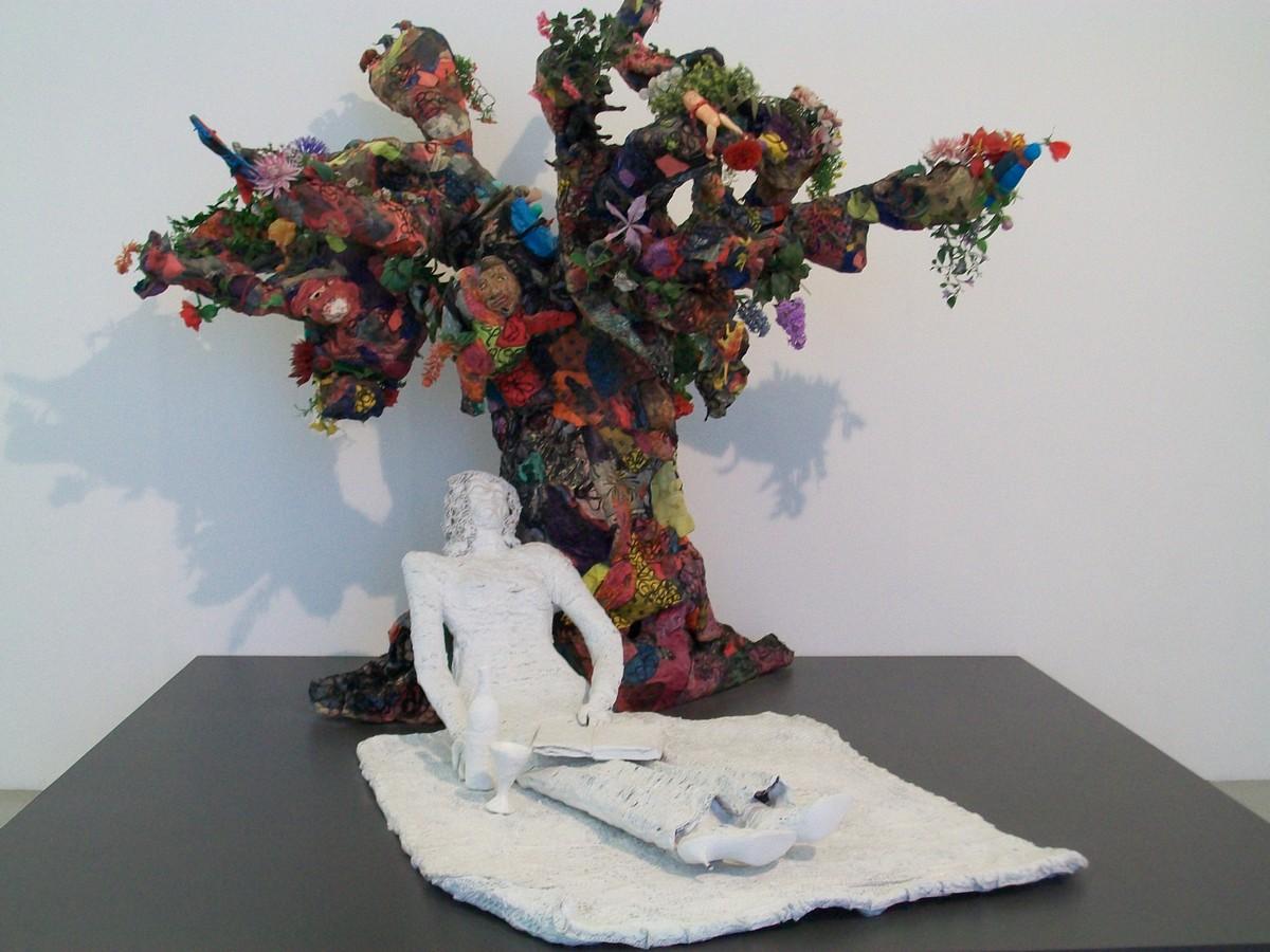 niki saint phalle-la mariée sous l'arbre