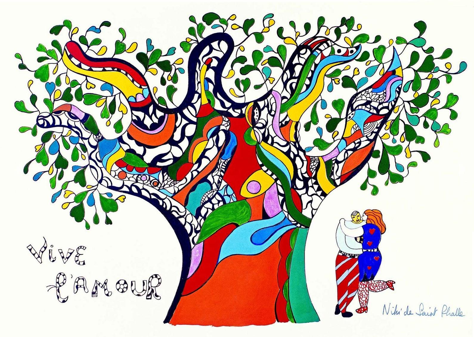 niki saint phalle-vive l amour